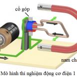 Nguyên lý tạo thành nam châm điện
