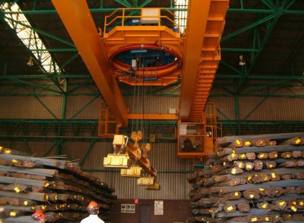 Hệ thống nam châm điện trong các nhà máy lớn