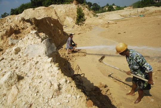 Khai  thác đất hiếm-Nguồn nguyên liệu chính chế tạo nam châm đất hiếm